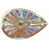 Celestial Sew-on Stone 10pcs Drop 20x30mm Sun Aurora Borealis